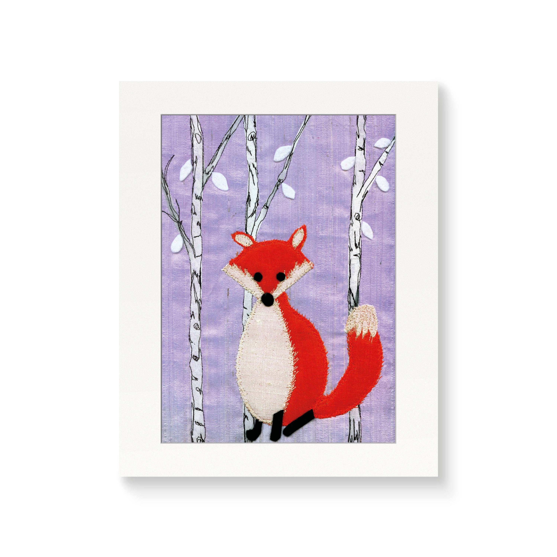 Fox - Nursery Print