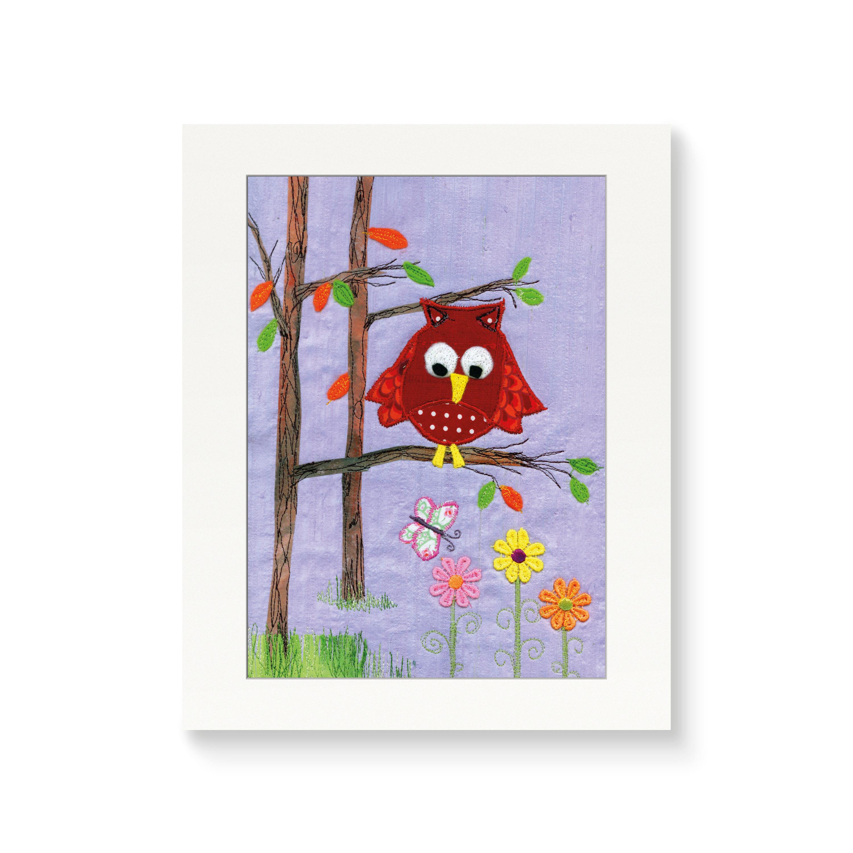 Owl - Nursery Print