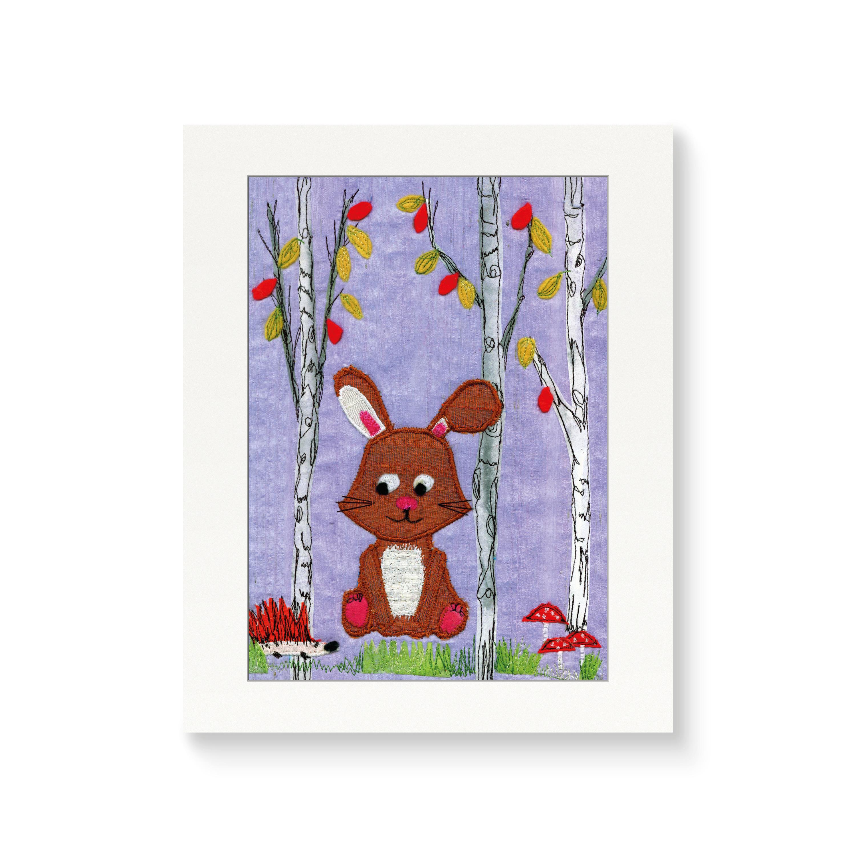 Rabbit - Nursery Print