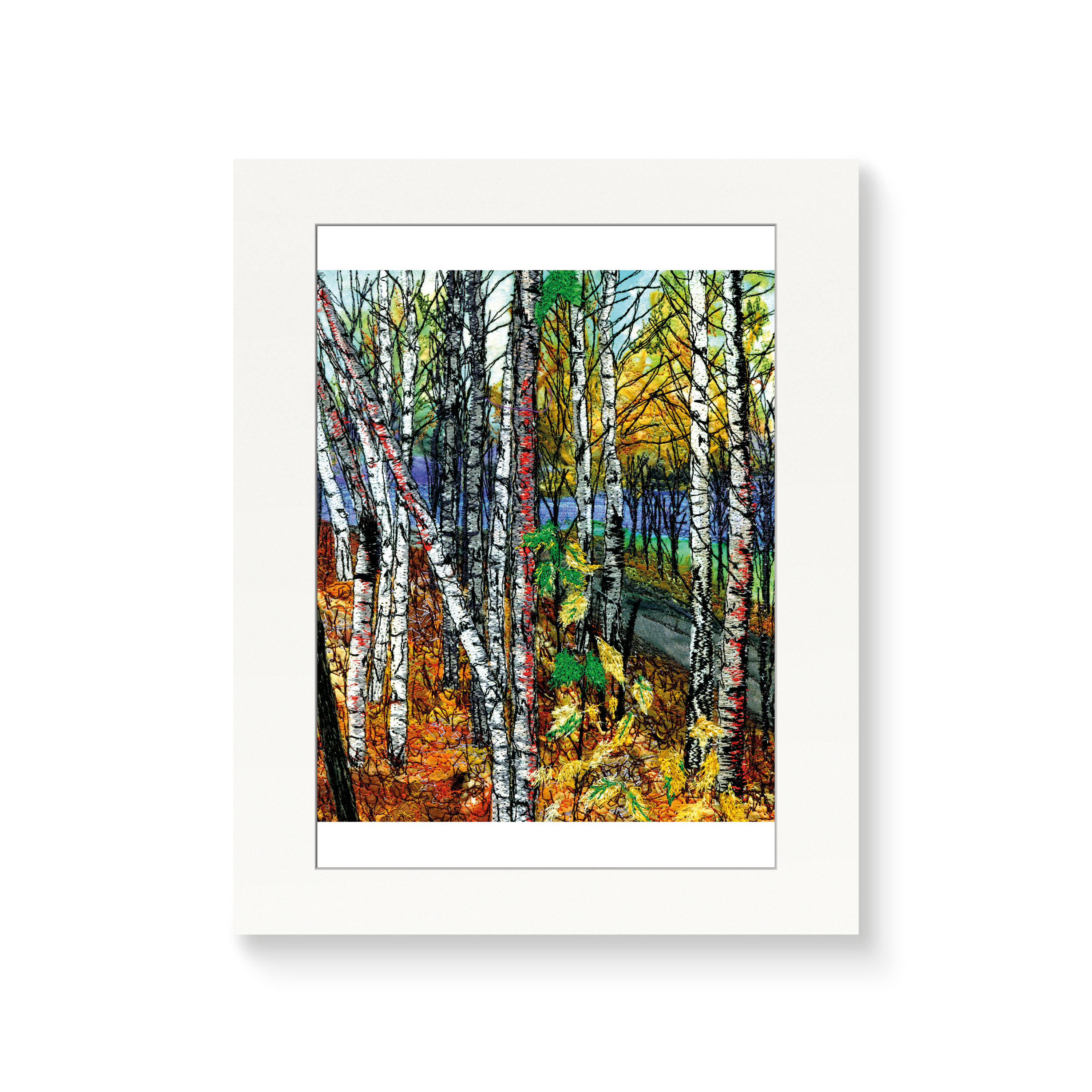 View to the River - Print