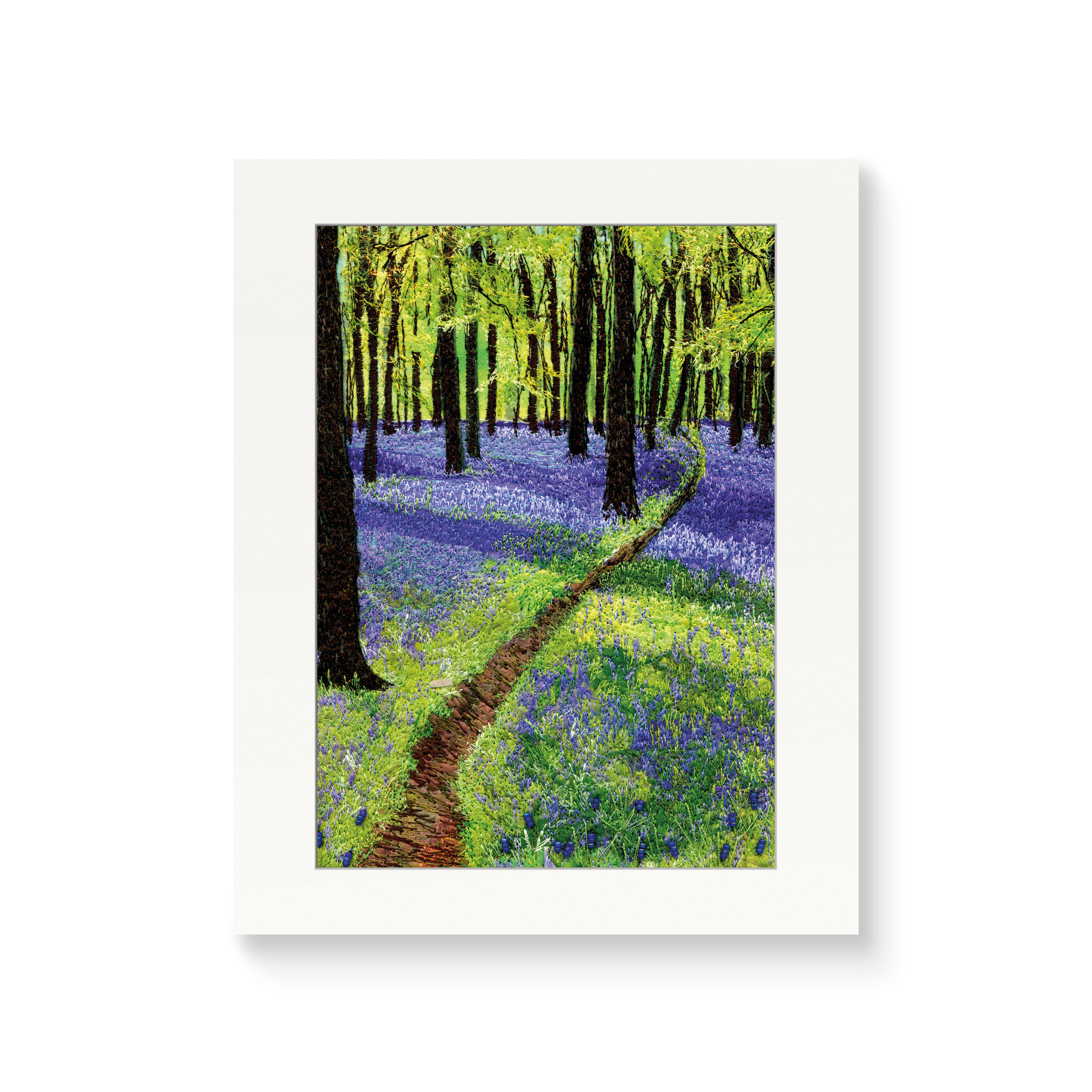Way into the Bluebell Woods - Print